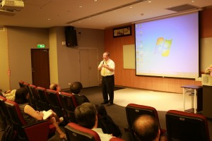 Speech by distinguished guest Prof. Shih-Ming Peng, former Vice President of Academia Sinica