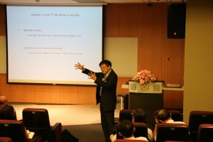 Lecture by H.N. Cheng