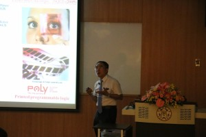 Lecture by Prof. Wen-Chang Chen